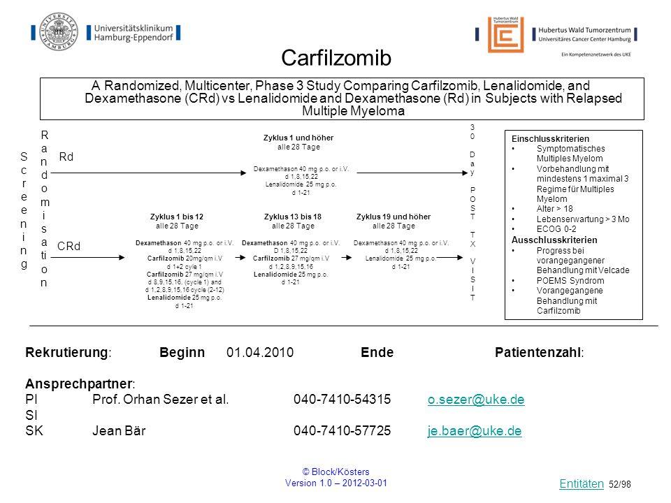 Carfilzomib