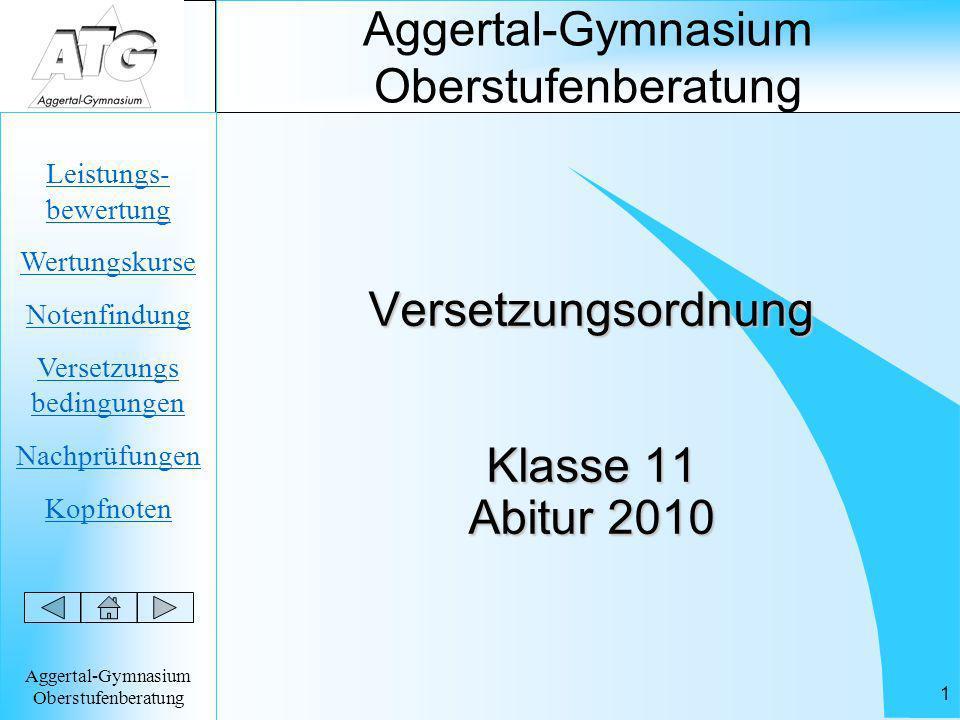 Aggertal-Gymnasium Oberstufenberatung