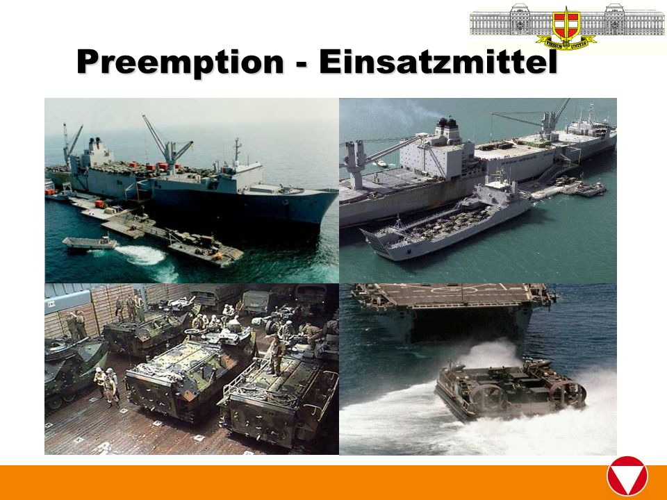 Preemption - Einsatzmittel