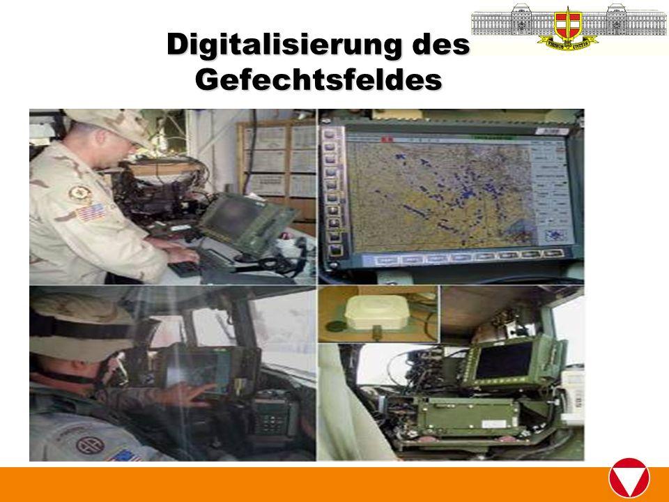 Digitalisierung des Gefechtsfeldes
