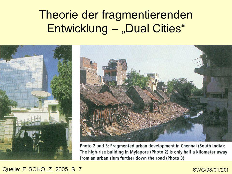 """Theorie der fragmentierenden Entwicklung – """"Dual Cities"""