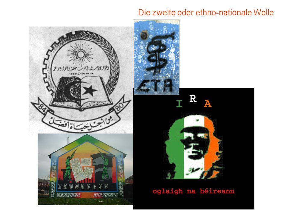Die zweite oder ethno-nationale Welle