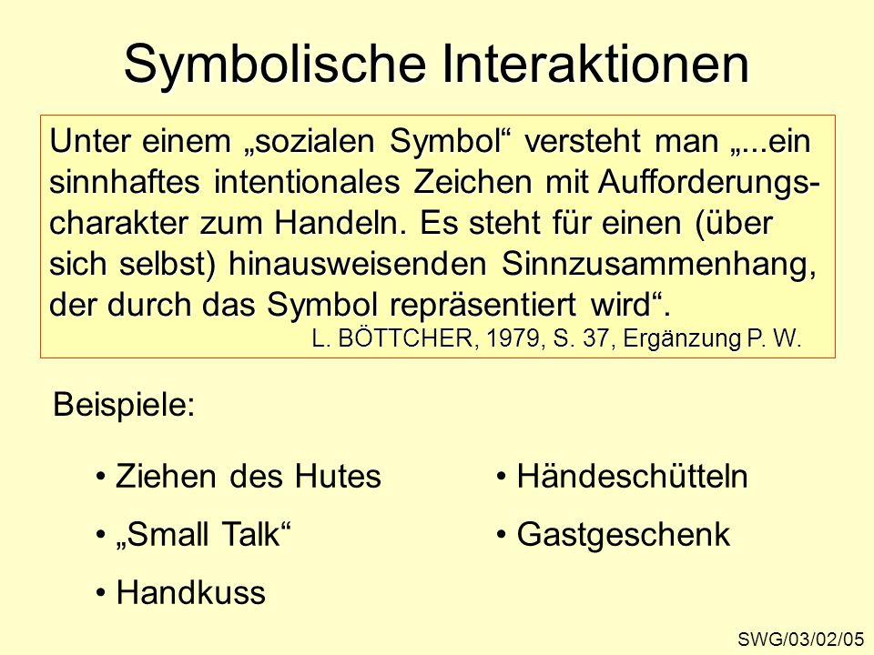 Symbolische Interaktionen