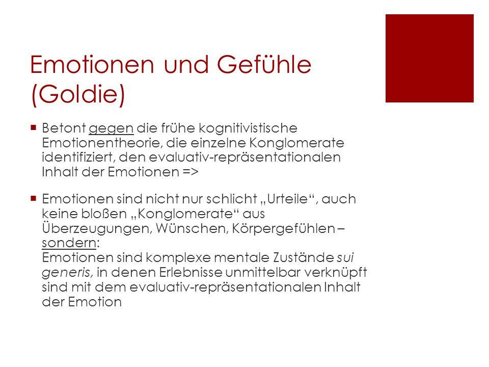 Emotionen und Gefühle (Goldie)