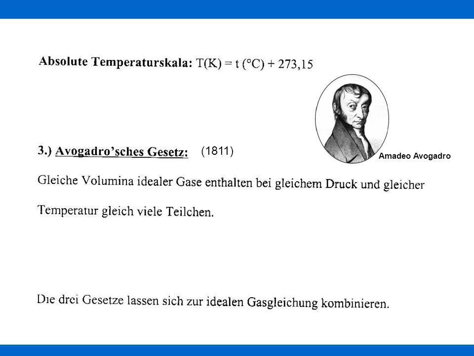 (1811) Amadeo Avogadro