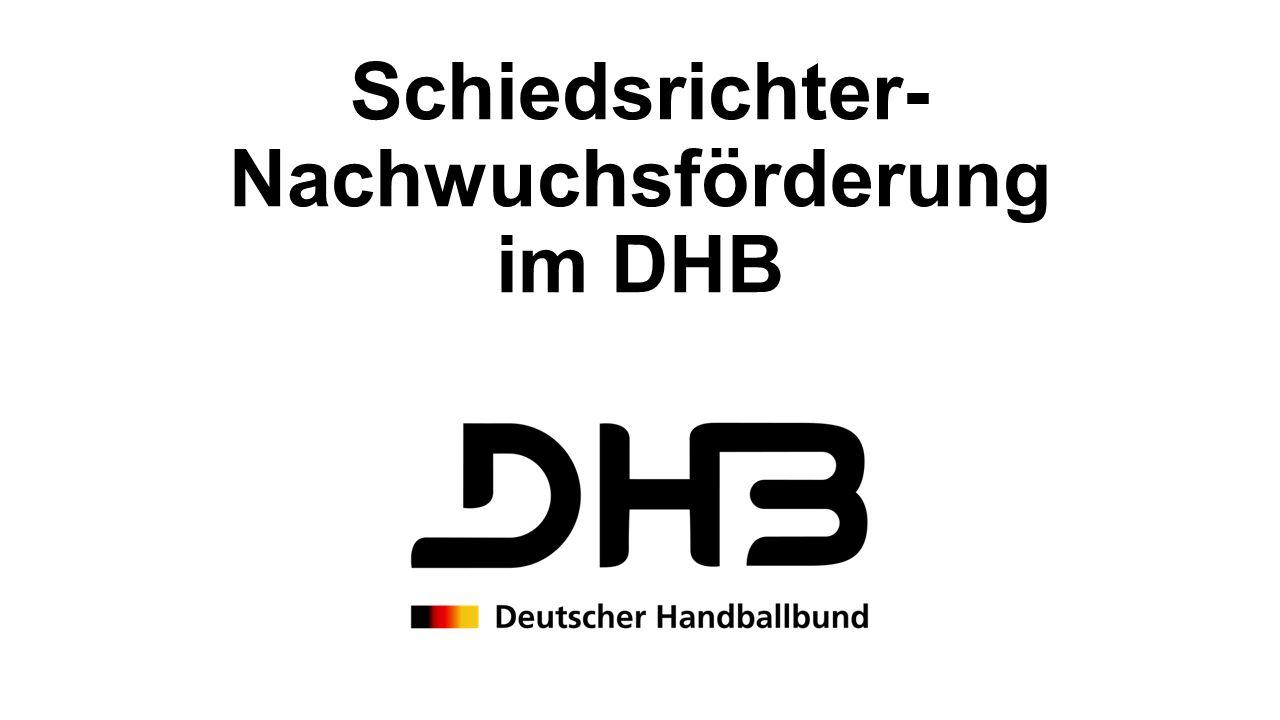 Schiedsrichter- Nachwuchsförderung im DHB