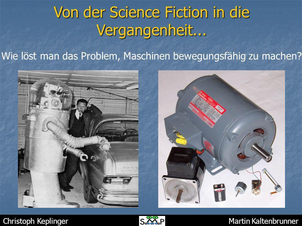 Von der Science Fiction in die Vergangenheit...