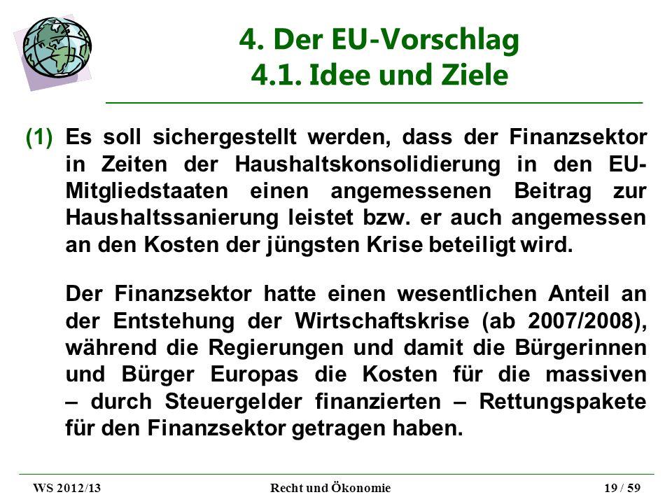 4. Der EU-Vorschlag 4.1. Idee und Ziele