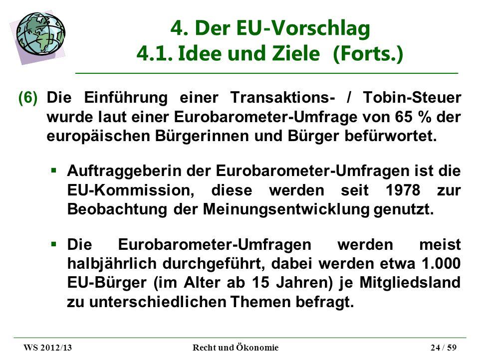 4. Der EU-Vorschlag 4.1. Idee und Ziele (Forts.)