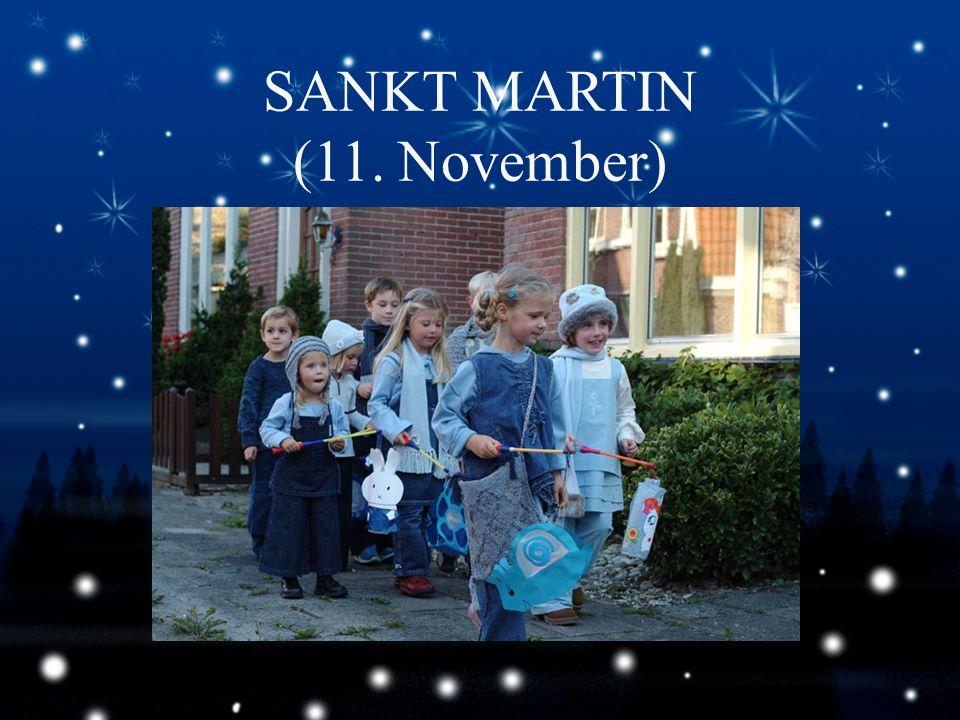 SANKT MARTIN (11. November)