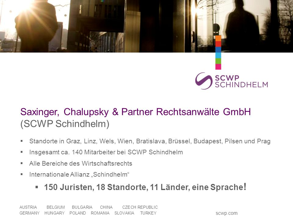 Saxinger, Chalupsky & Partner Rechtsanwälte GmbH (SCWP Schindhelm)