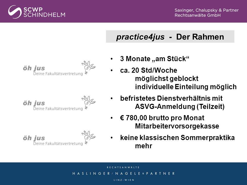 practice4jus - Der Rahmen