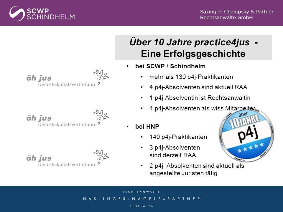 Über 10 Jahre practice4jus - Eine Erfolgsgeschichte