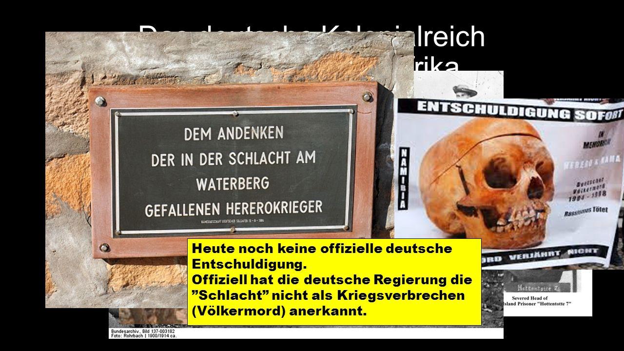 Das deutsche Kolonialreich Deutsch-Südwestafrika