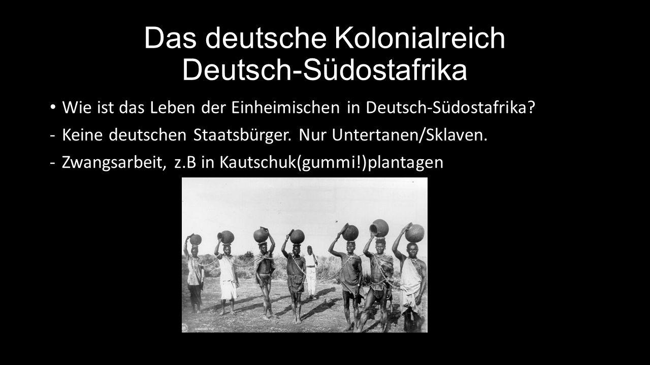 Das deutsche Kolonialreich Deutsch-Südostafrika