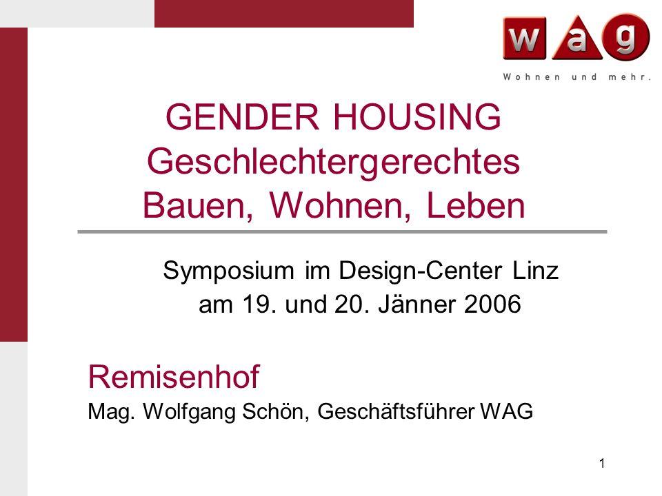 GENDER HOUSING Geschlechtergerechtes Bauen, Wohnen, Leben