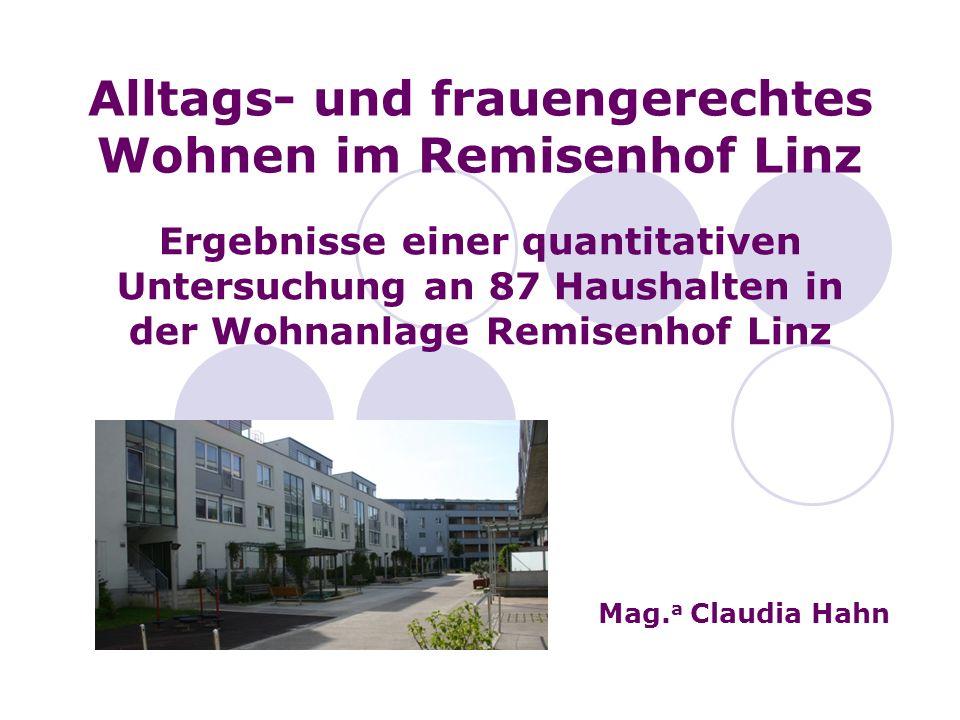 Alltags- und frauengerechtes Wohnen im Remisenhof Linz