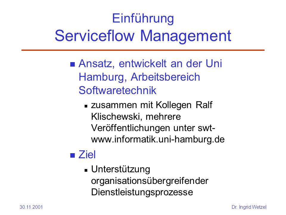 Einführung Serviceflow Management