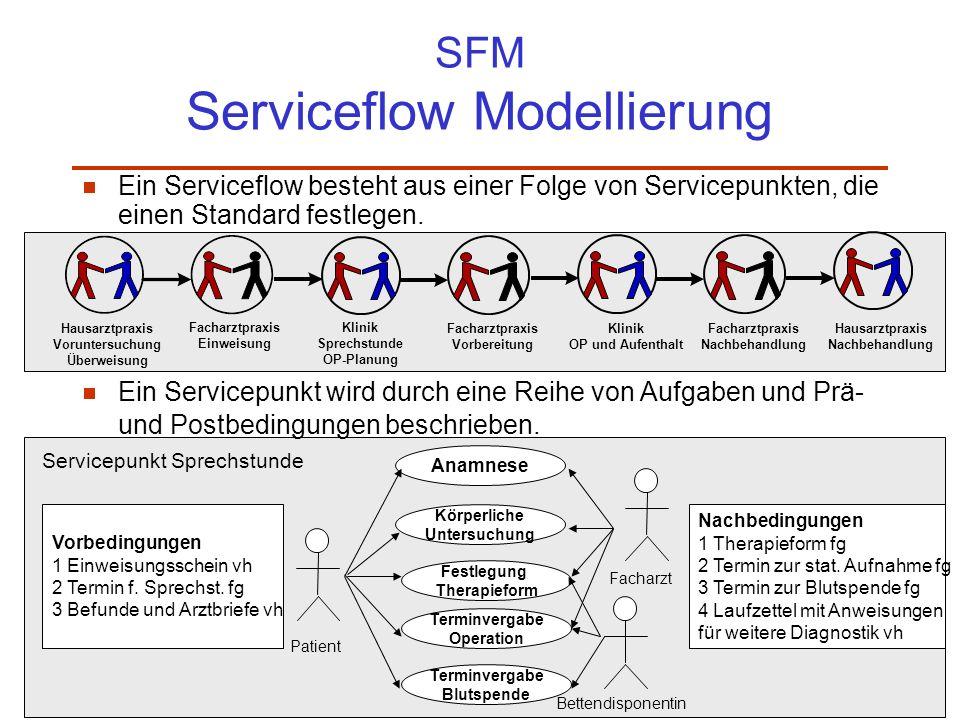 SFM Serviceflow Modellierung