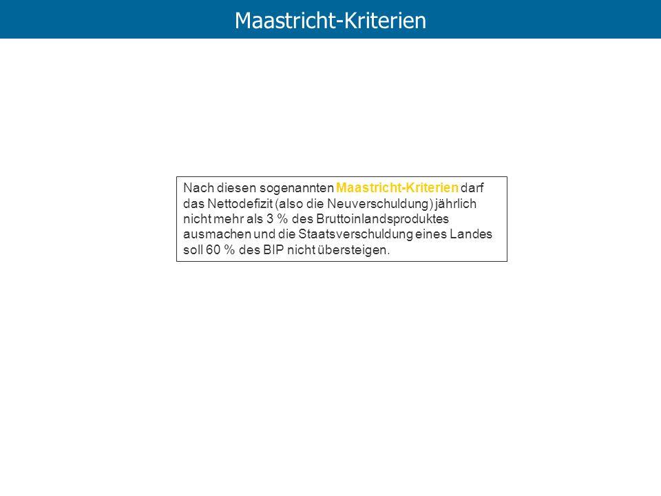 Maastricht-Kriterien
