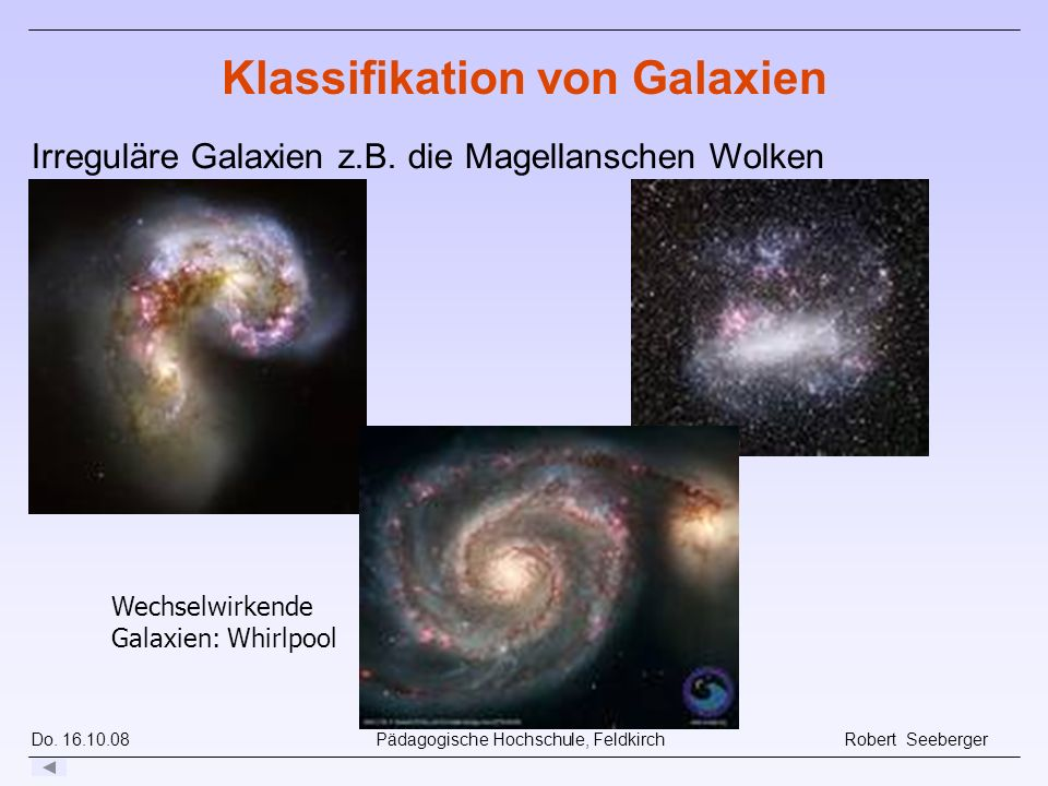 Klassifikation von Galaxien