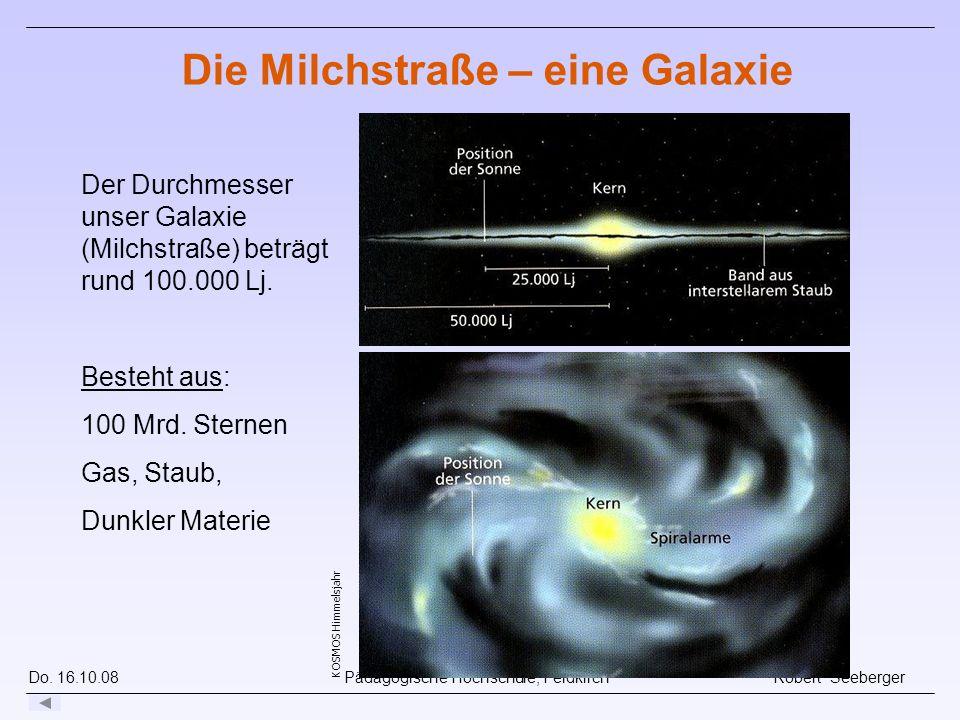 Die Milchstraße – eine Galaxie