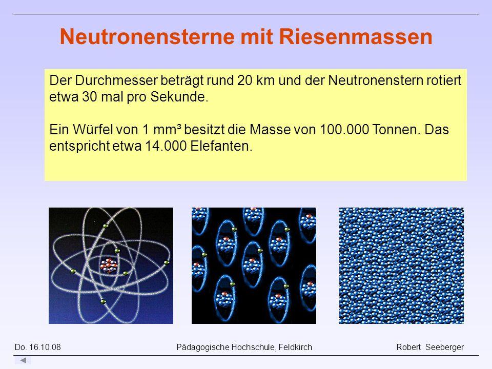 Neutronensterne mit Riesenmassen