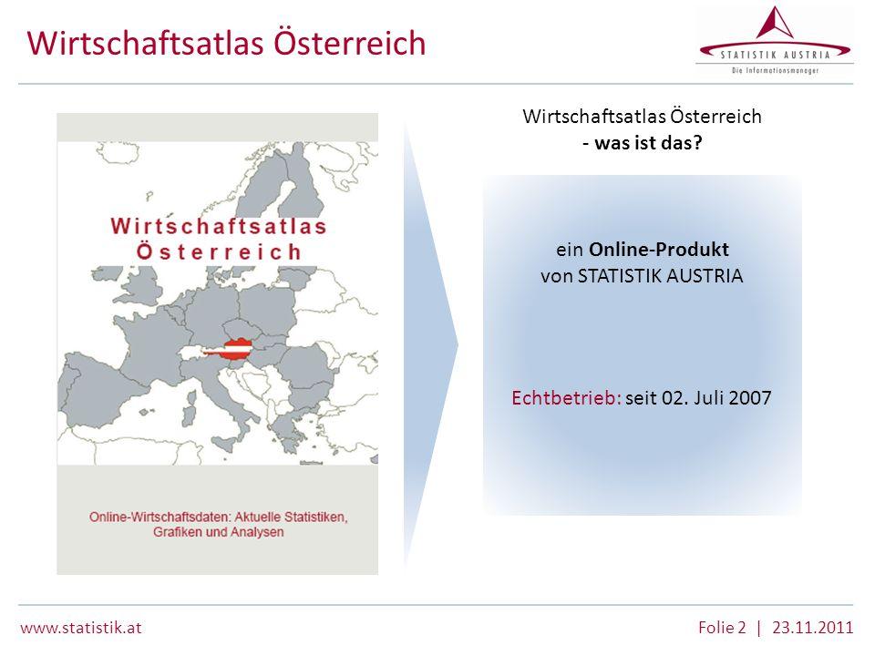 Wirtschaftsatlas Österreich