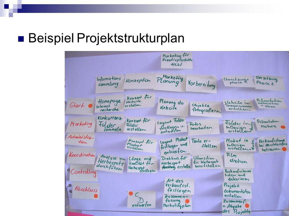 Beispiel Projektstrukturplan