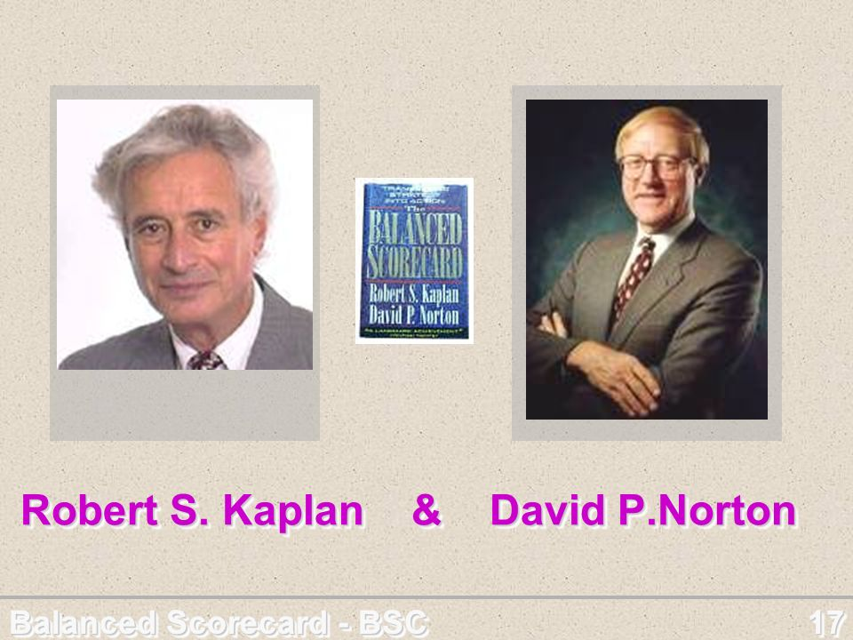 Robert S. Kaplan & David P.Norton