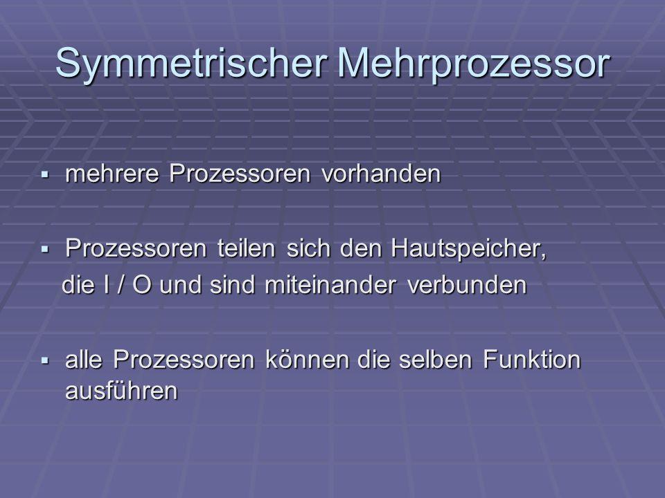 Symmetrischer Mehrprozessor