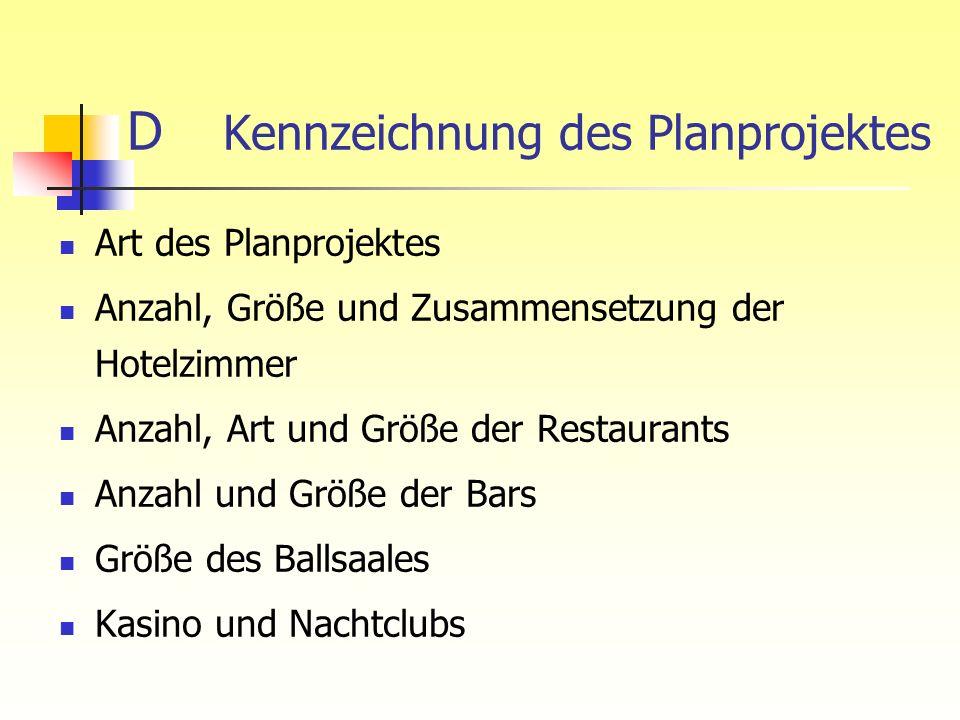 D Kennzeichnung des Planprojektes