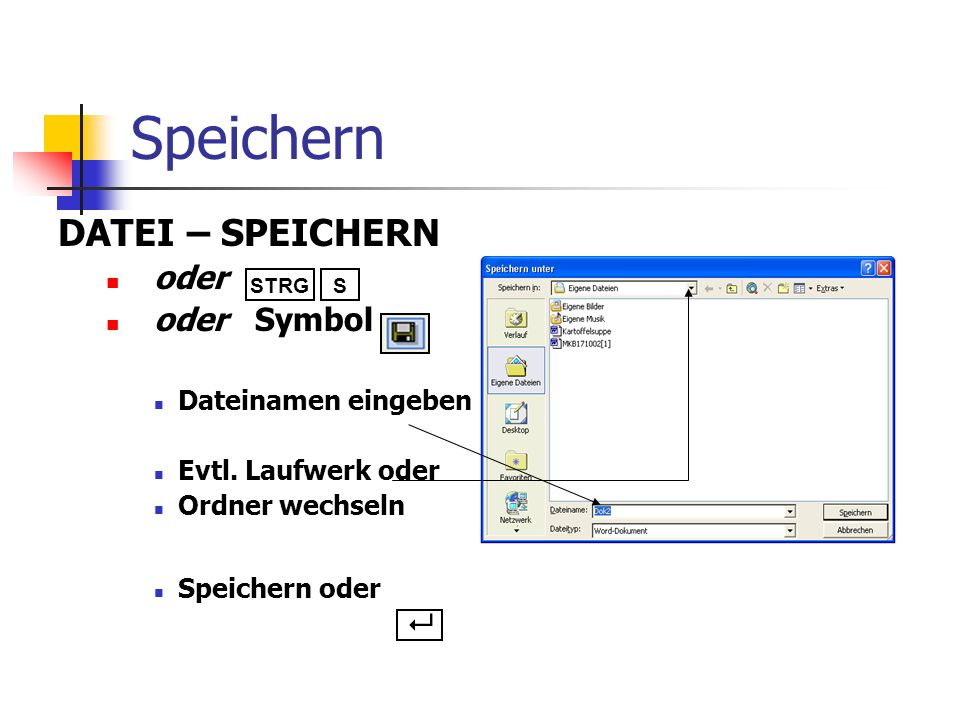 Öffnen und Laden Aktenordner Symbol in der Symbolleiste oder in der ...