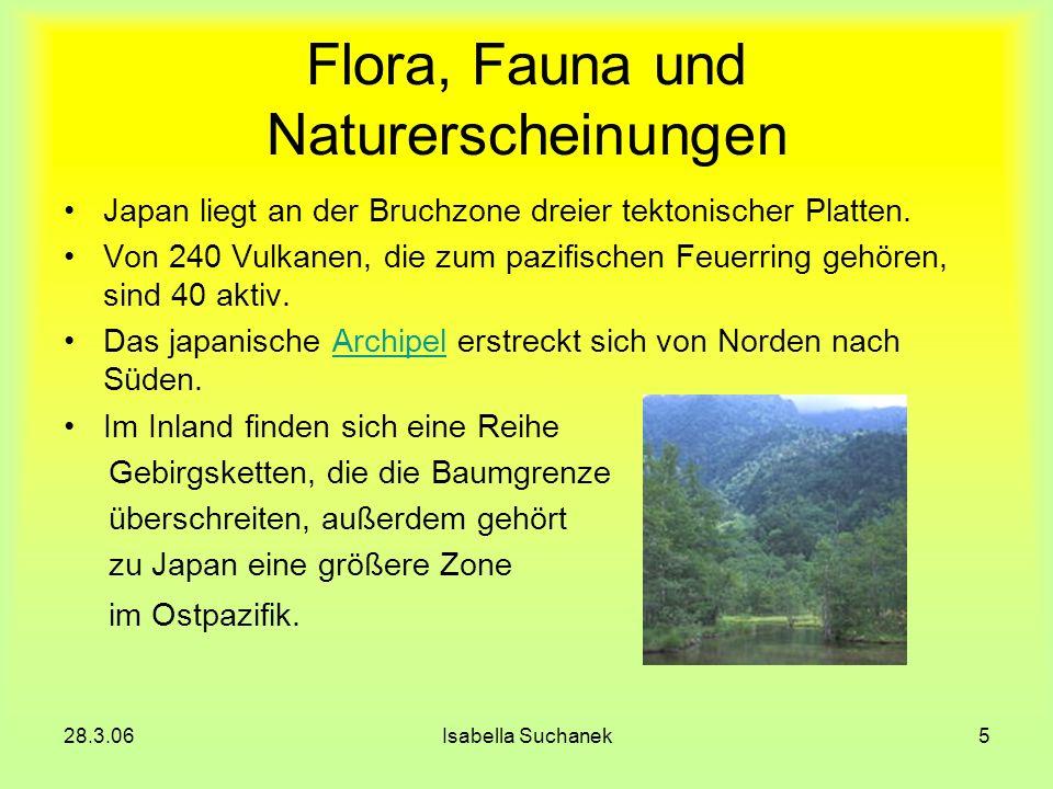 Flora, Fauna und Naturerscheinungen