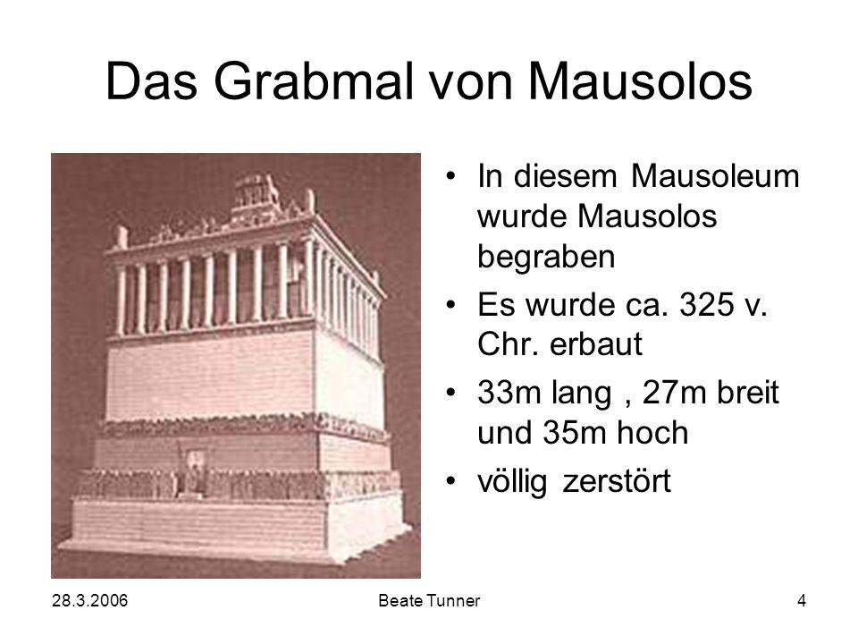 Das Grabmal von Mausolos