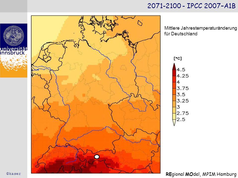 2071-2100 - IPCC 2007–A1B Mittlere Jahrestemperaturänderung