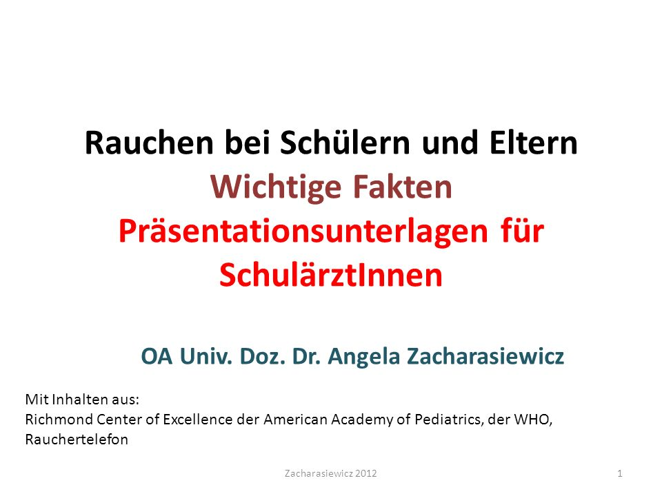 OA Univ. Doz. Dr. Angela Zacharasiewicz