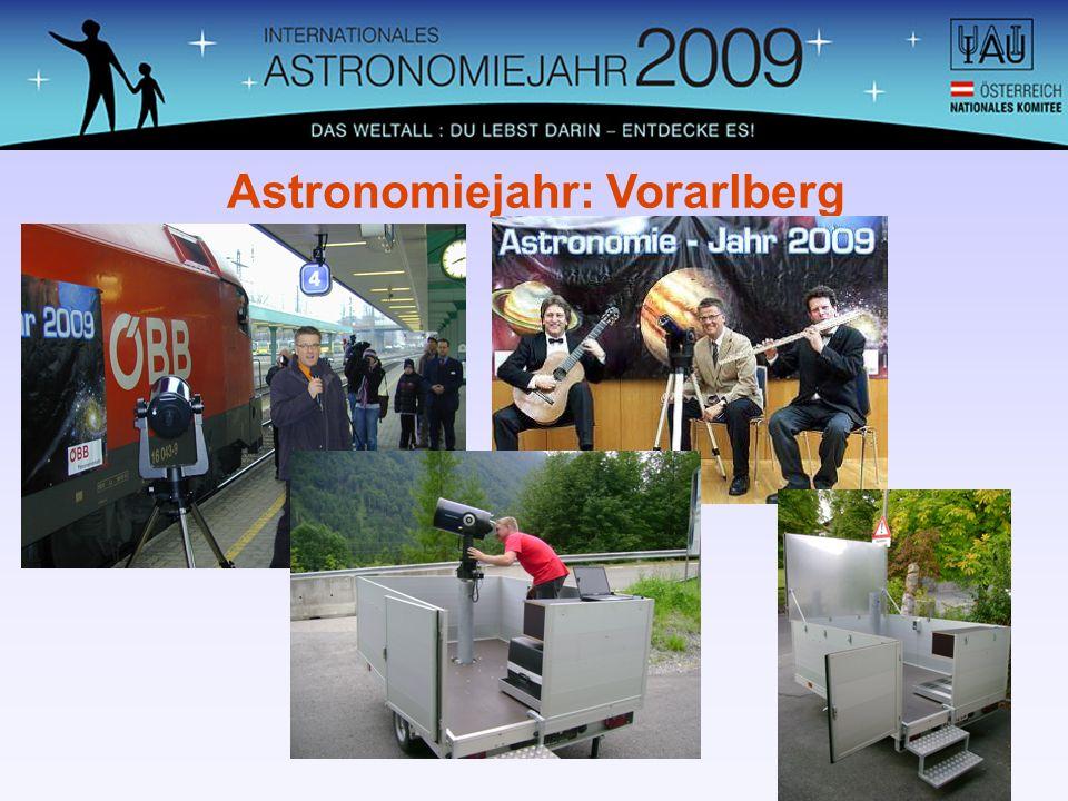 Astronomiejahr: Vorarlberg