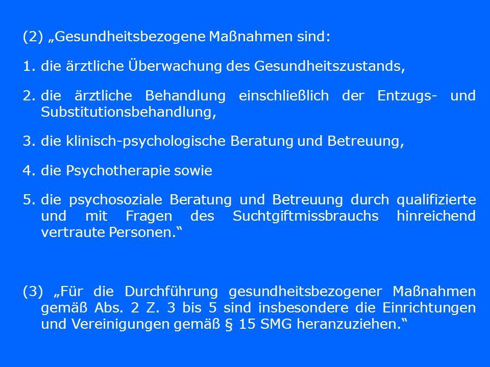 """(2) """"Gesundheitsbezogene Maßnahmen sind:"""