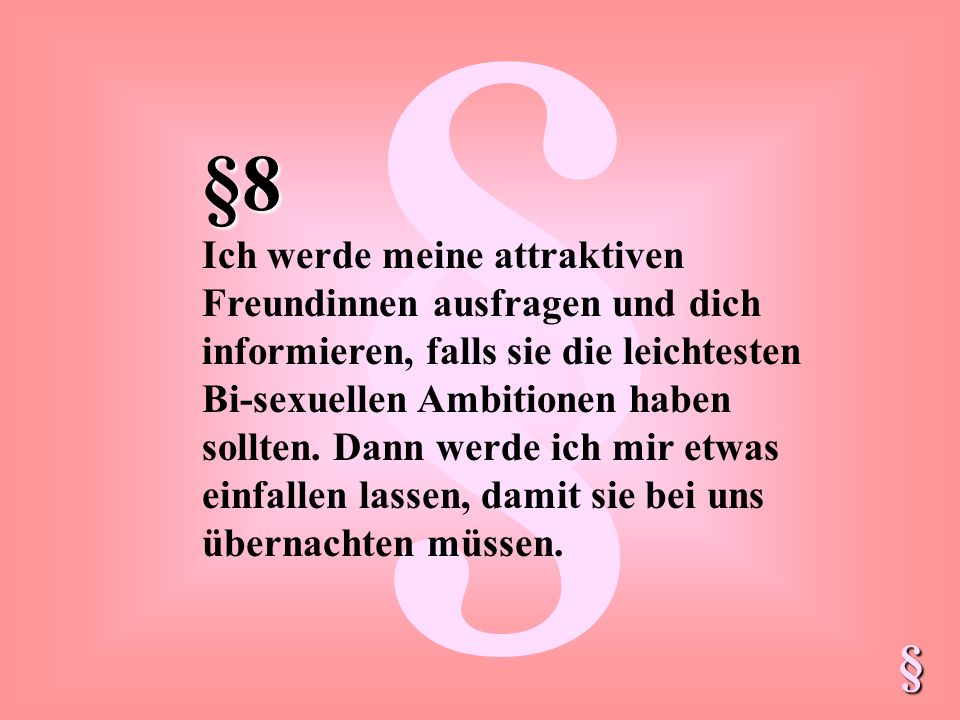 § §8.