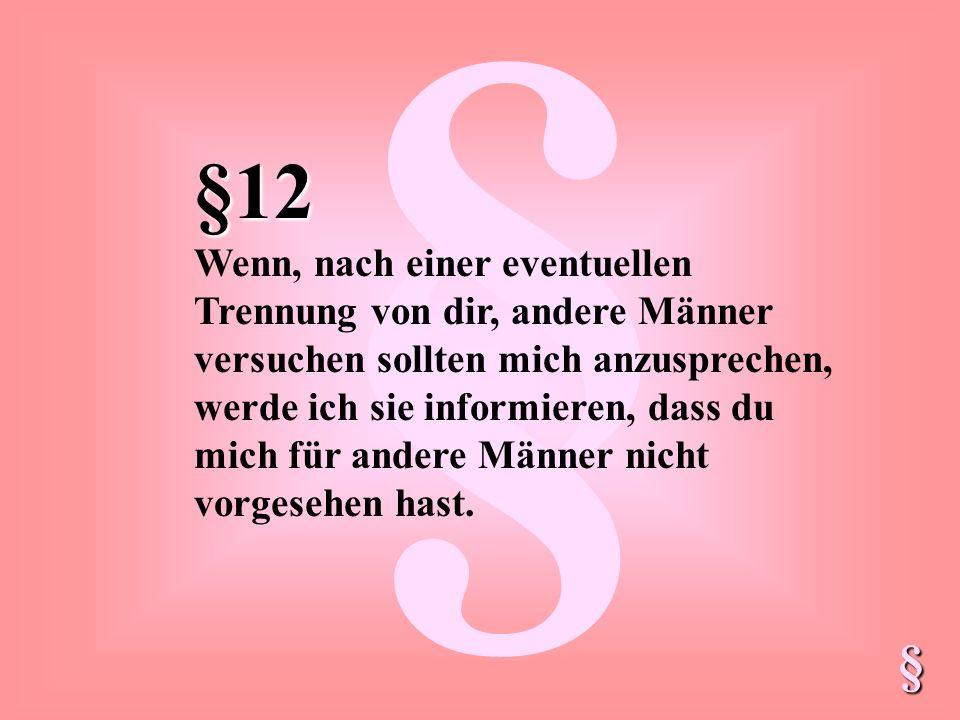 § §12.