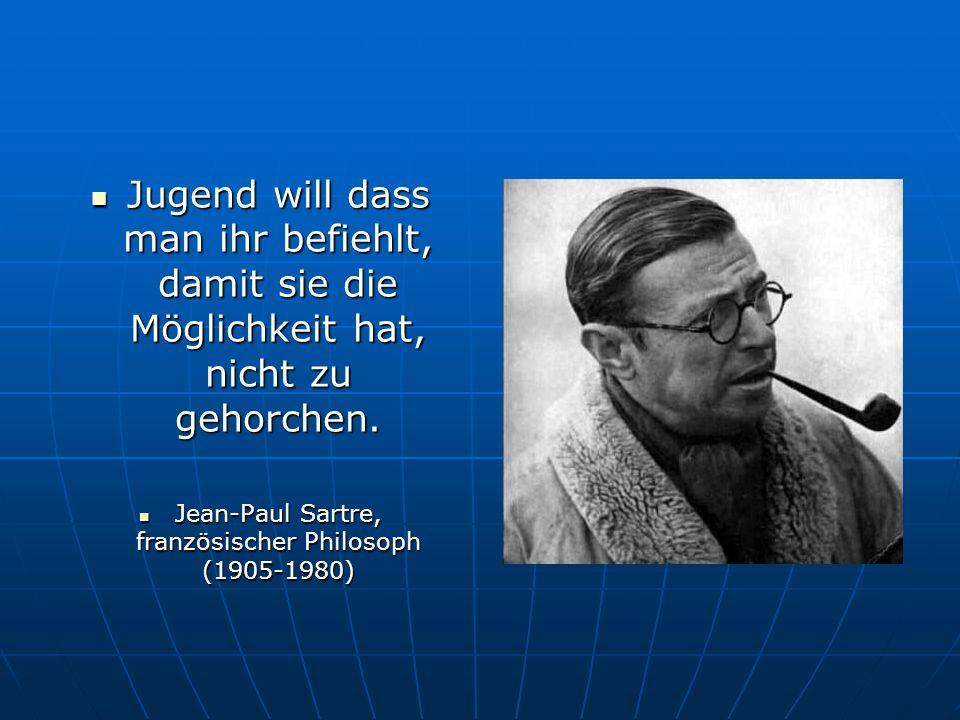 Jean-Paul Sartre, französischer Philosoph (1905-1980)