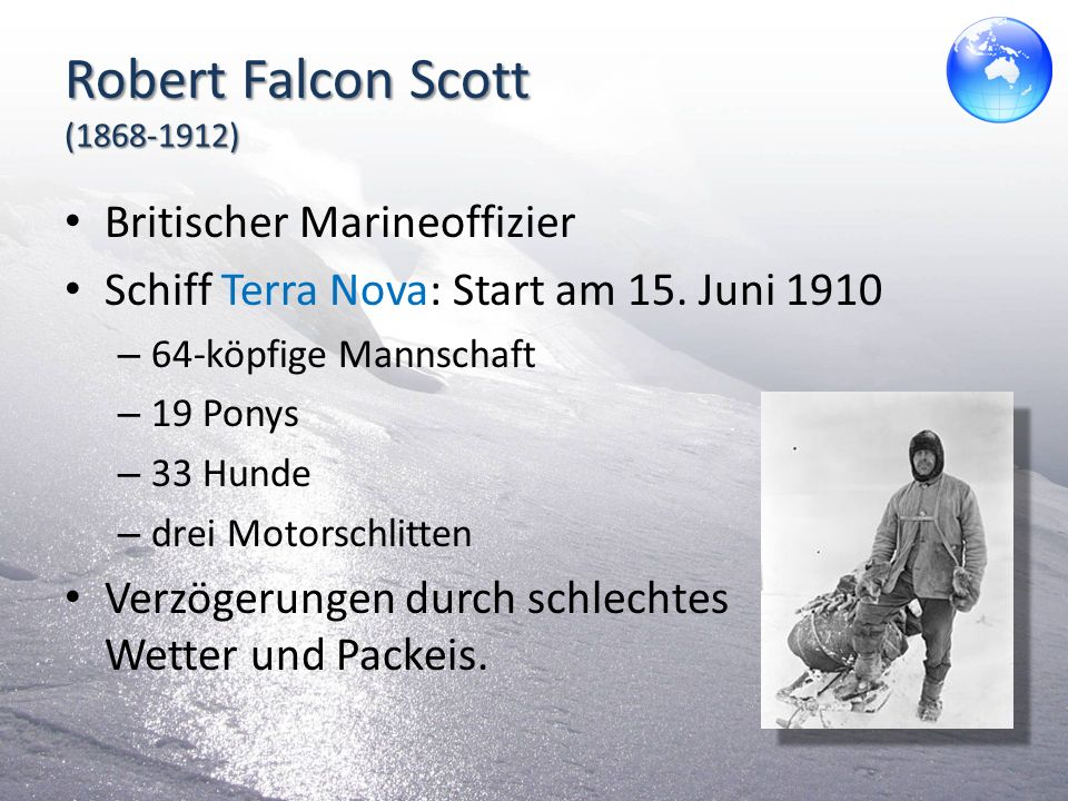 Robert Falcon Scott (1868-1912)