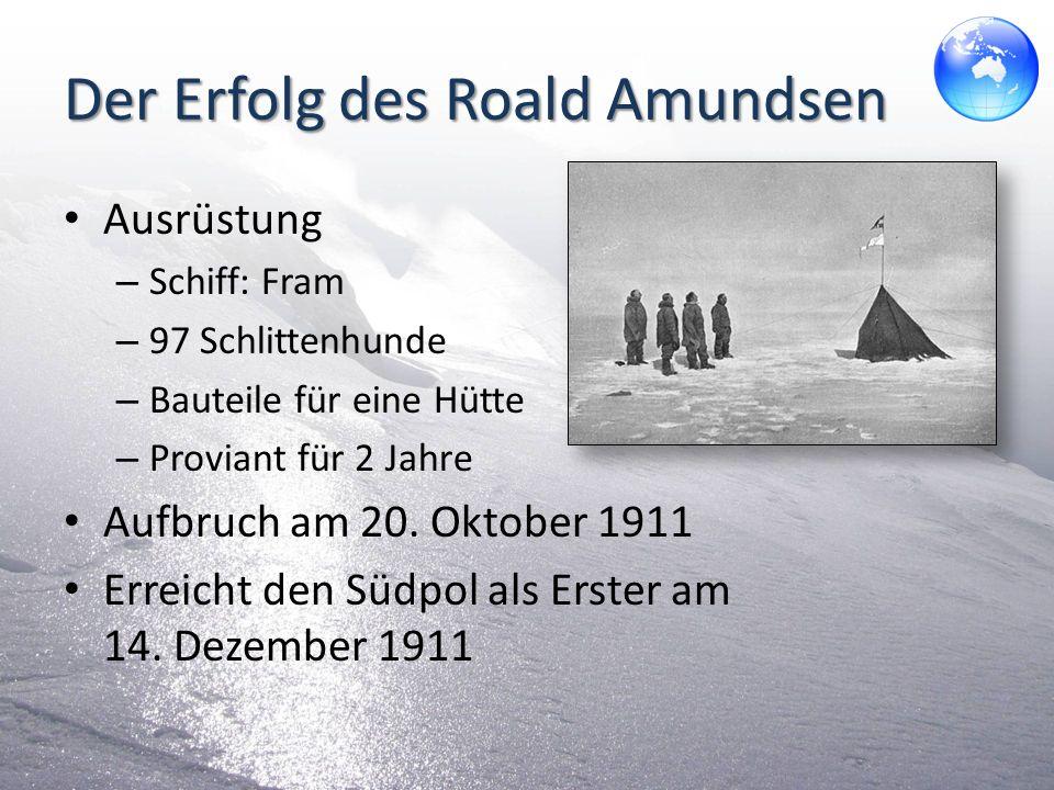Der Erfolg des Roald Amundsen