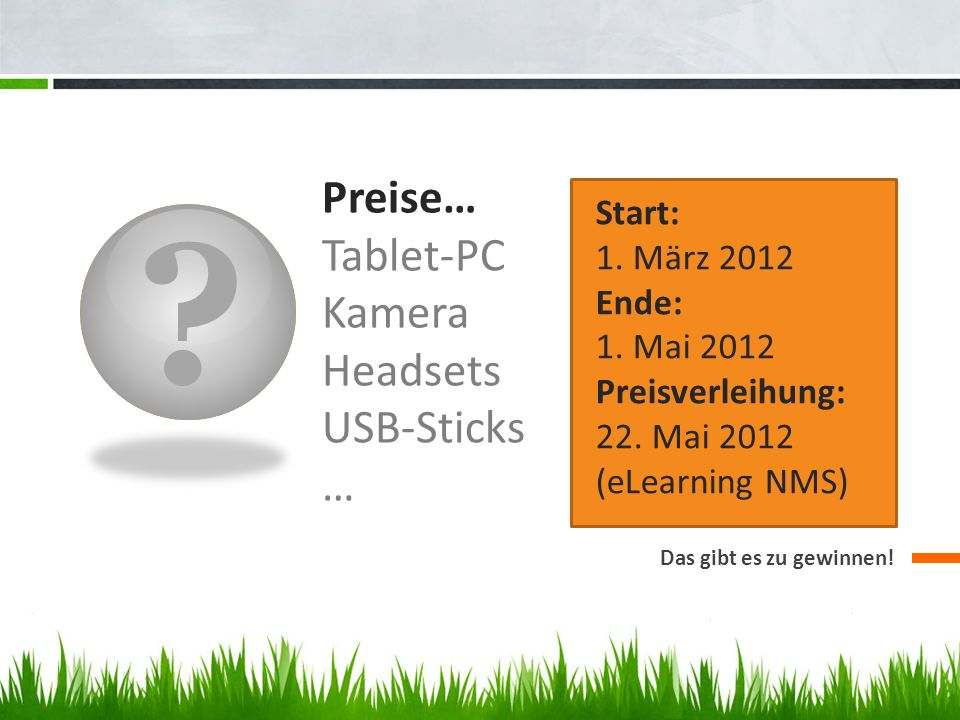 Preise… Tablet-PC Kamera Headsets USB-Sticks …