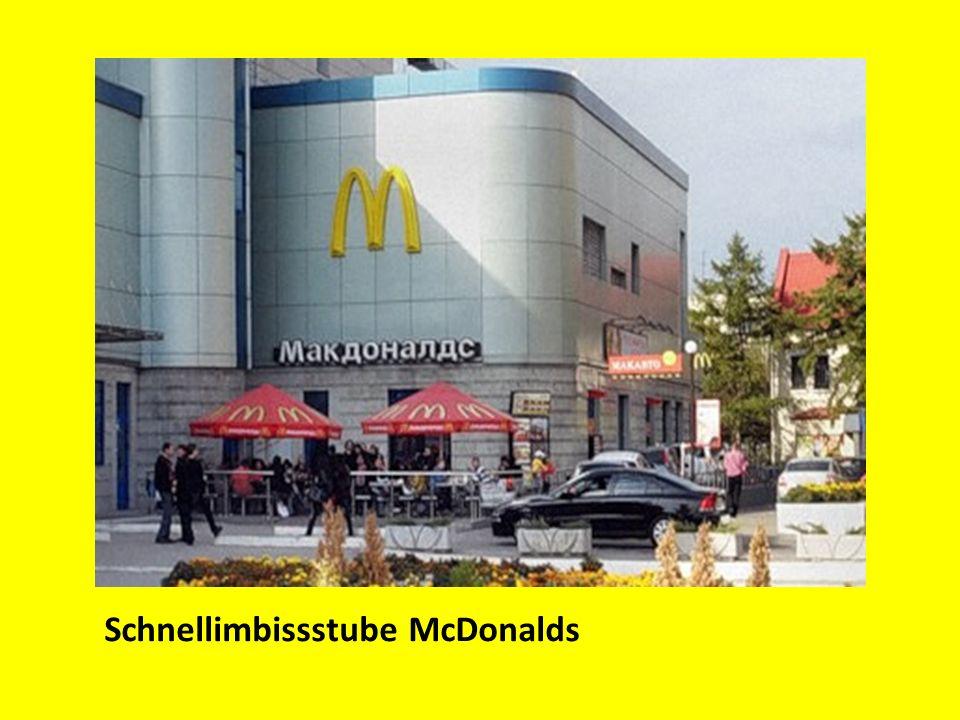 Schnellimbissstube McDonalds