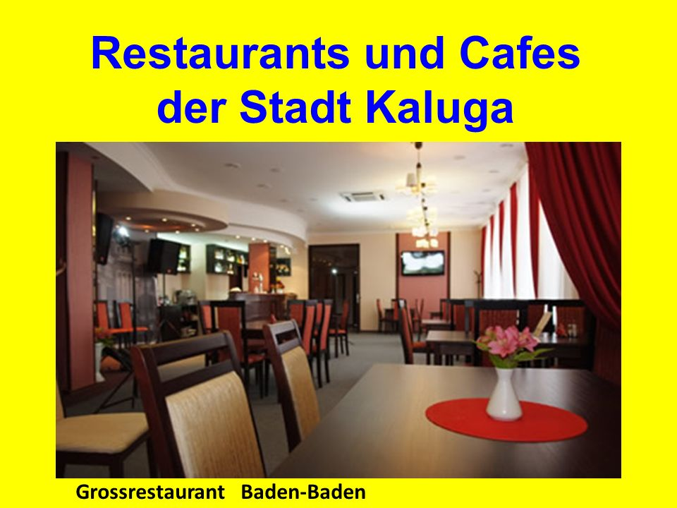 Grossrestaurant Baden-Baden