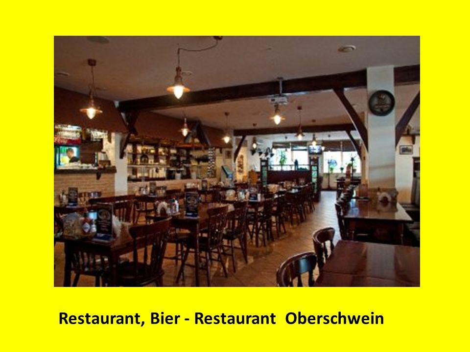 Restaurant, Bier - Restaurant Oberschwein