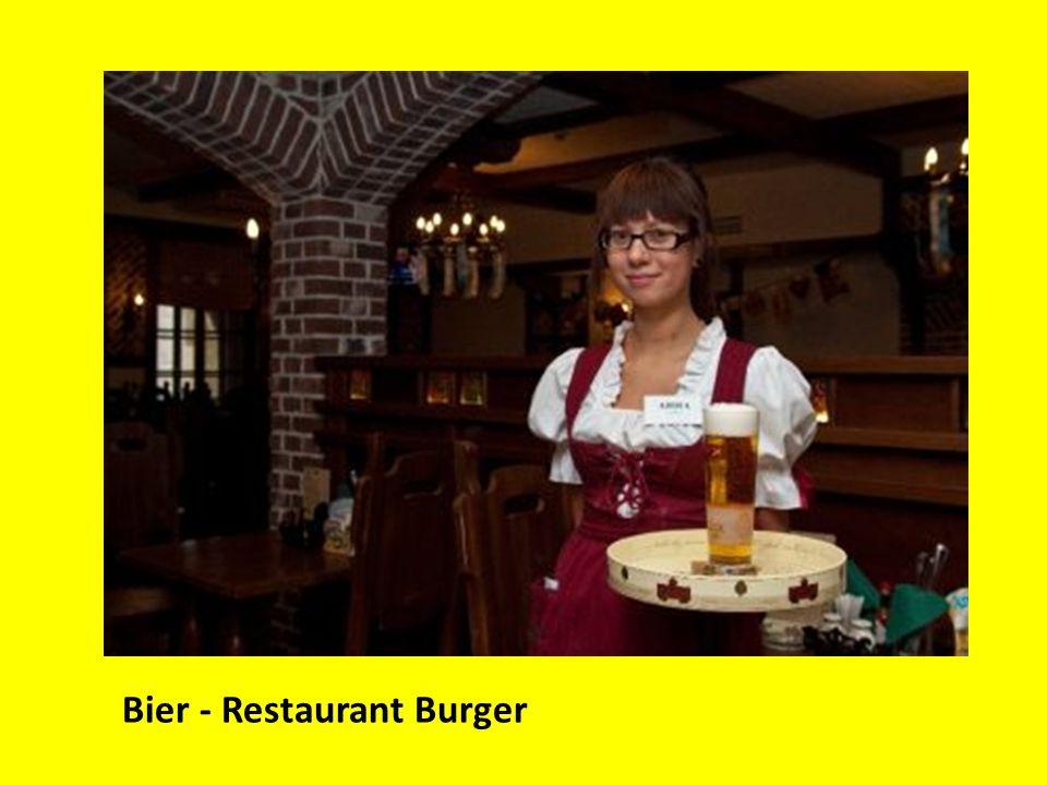Bier - Restaurant Burger