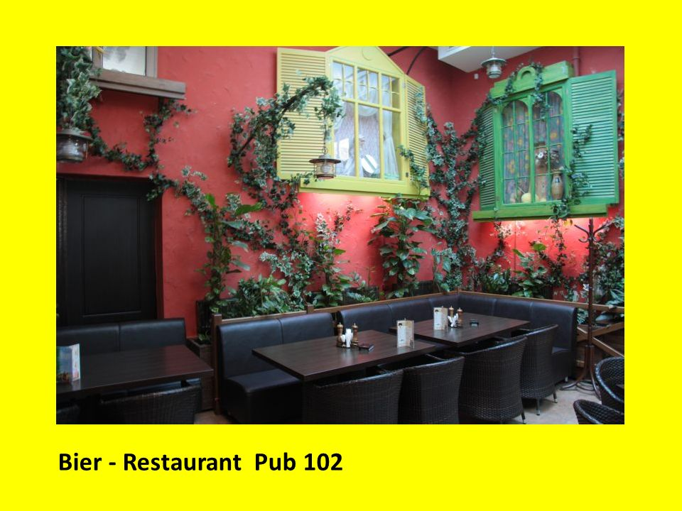 Bier - Restaurant Pub 102